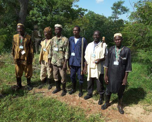brigade de surveillance forestière à Yorosso